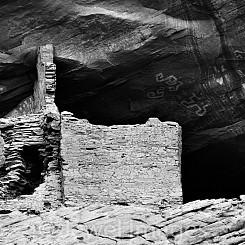 003 First Ruin Canyon de Chelly AZ