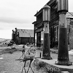 004 Gas Station Bodie State Historical Park CA
