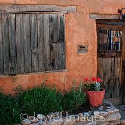 011 Santa Fe Doorway NM