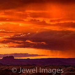 025 Rainclouds at Pothole Pt Canyonlands NP
