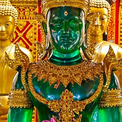 039 Statue at Wat Phra That Doi Suthep Thailand