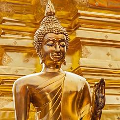 041 Statue at Wat Phra That Doi Suthep Thailand
