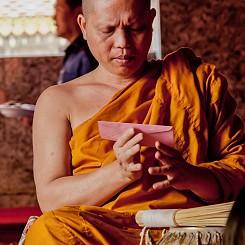 043 monk at Wat Phra That Doi Suthep Thailand