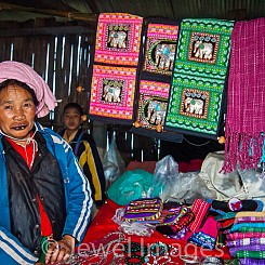 051 Woman Vendor Thailand