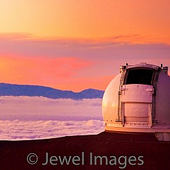 065 Keck Observatory at Sunset L015