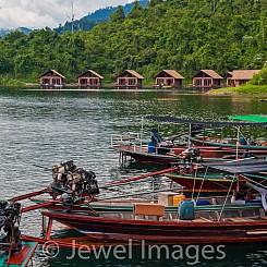 072 Longboats at Khao Sok NP Thailand