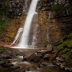 072 Virginia Falls Glacier NP