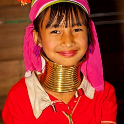 057 Longneck Tribe Girl Thailand